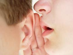 Gosipping in ear