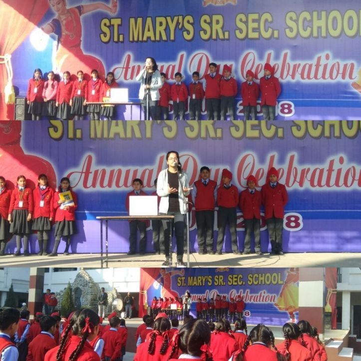 Divya Sharma ST. Mary's School Sensitizing Session