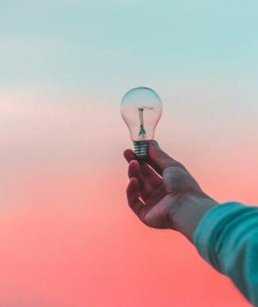 Bulb on hand